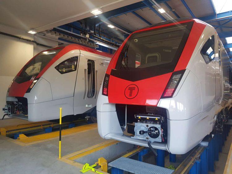 Transport for Wales FLIRT Train