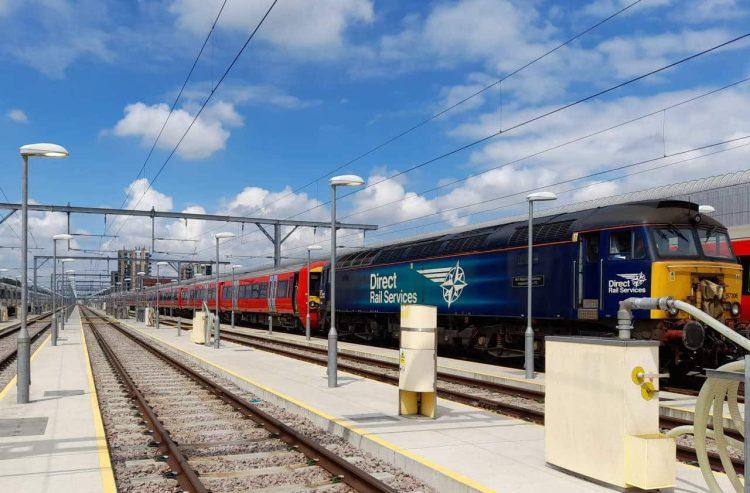 First three units 387204, 205 & 206 depart Hornsey depot