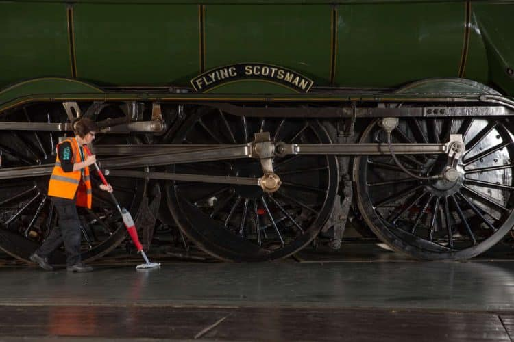 Flying Scotsman at the National Railway Museum