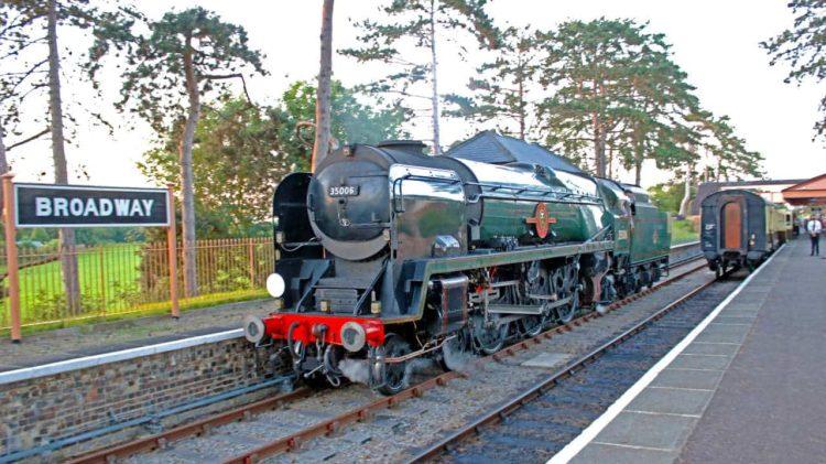 35006 on the Gloucestershire Warwickshire Railway