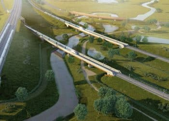 HS2 locos over trakes
