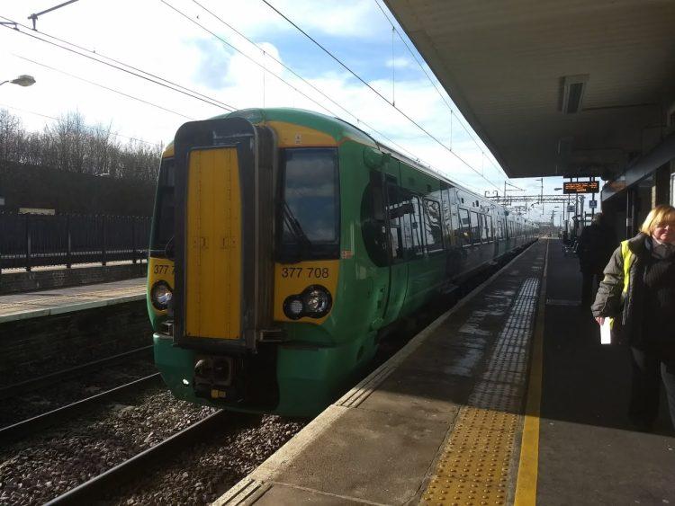 Southern Class 377 at Hemel Hempstead