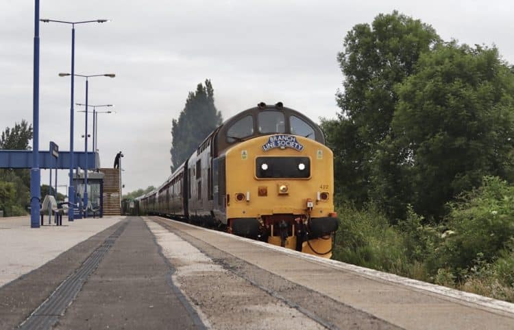 DRS Class 37s on a Branch Line Society tour