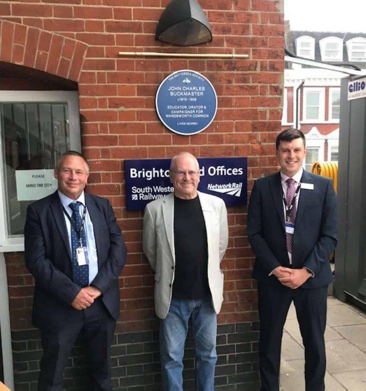 John Charles Buckmaster blue plaque