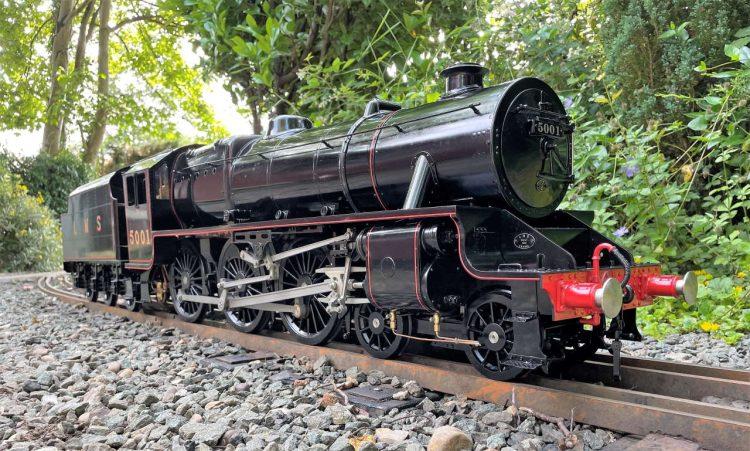 LMS Black 5 5001 5 inch gauge