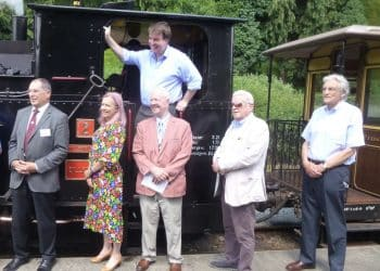 All-Party Parliamentary Group at the Welshpool and Llanfair Railway