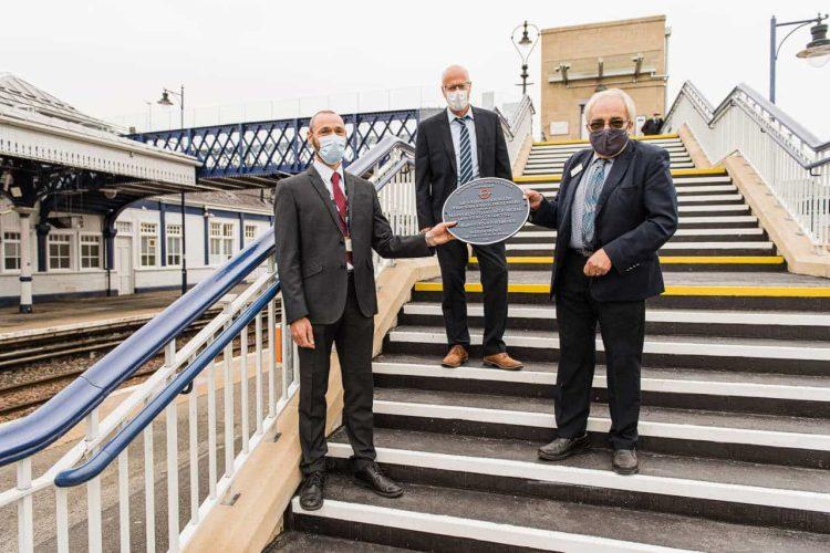 Alastair Macfarlane Network Rail John Macarthur MD Story Scotland Theo Steel Chair NRHA