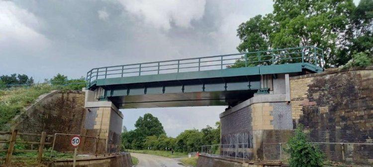 Manton bridge reopened
