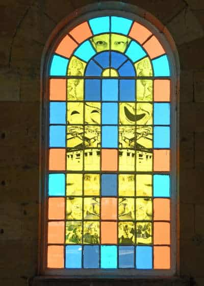 One of the Wilfred Owen windows