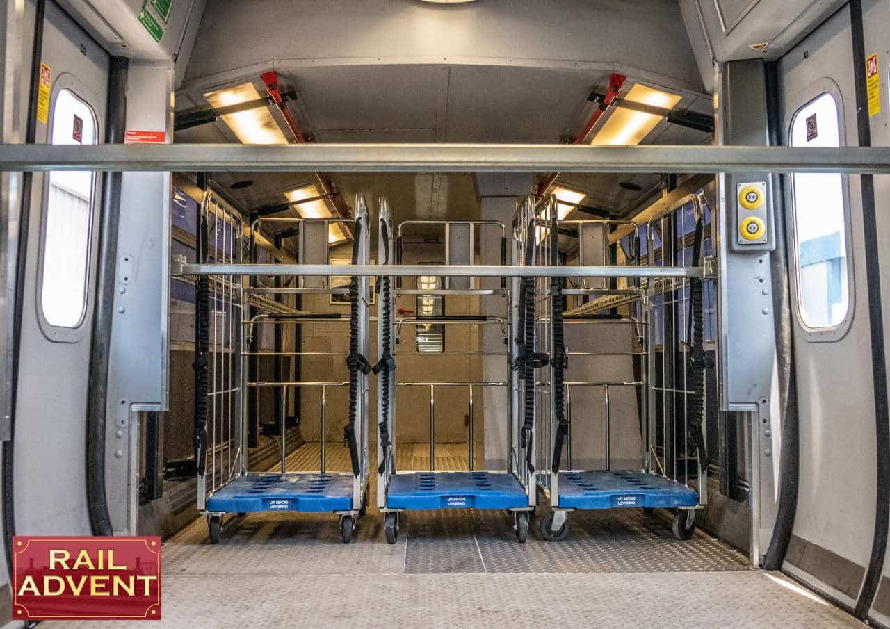Inside Eversholt Rail's Class 321 Swift Express Freight Train
