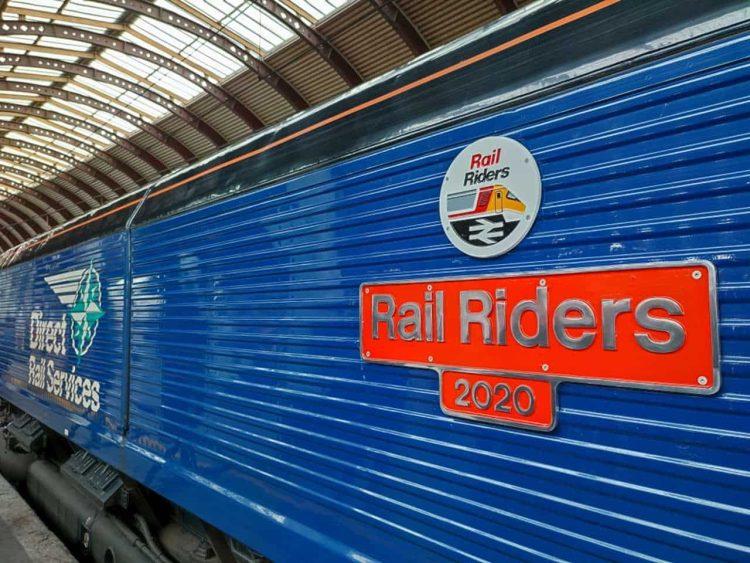 Rail Riders 2020 nameplate