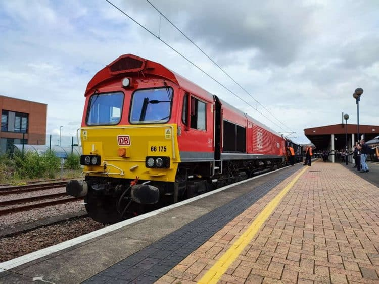 RailRiders Class 66 66175 at York