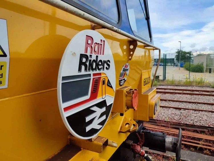 Rail Riders Class 66 66303 at York