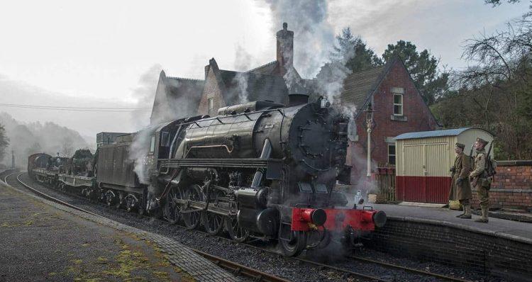 S160 6046 on the Churnet Valley Railway