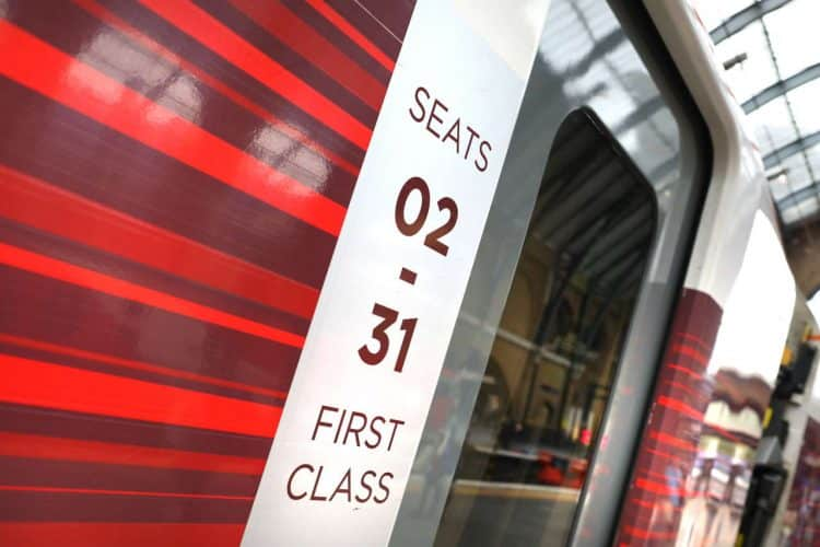 Seats on first class