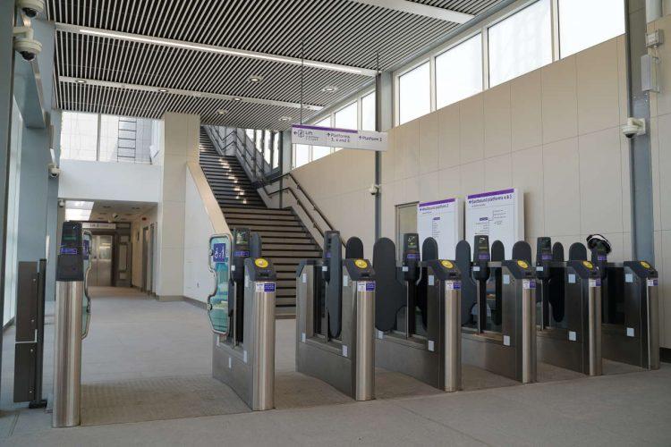 TfL Image - West Drayton ticket hall and gateline