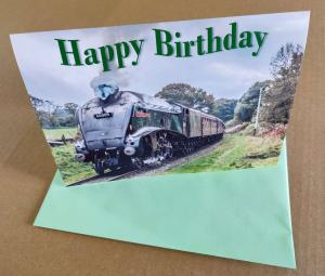 Birthday card with 60009 Union of South Africa