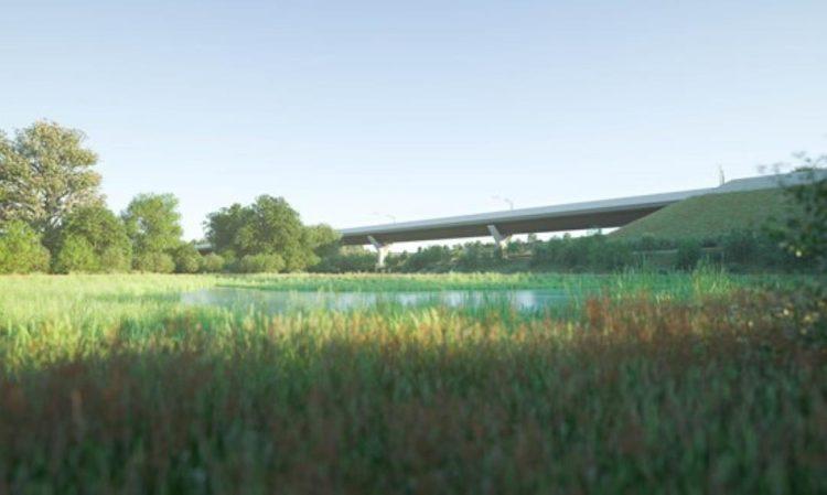 Wendover Dean Viaduct View 4 Credit HS2