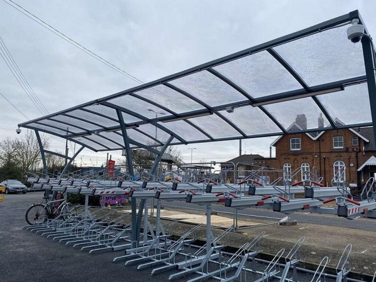 diss new cycle parking