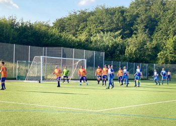 football match for mental health charities