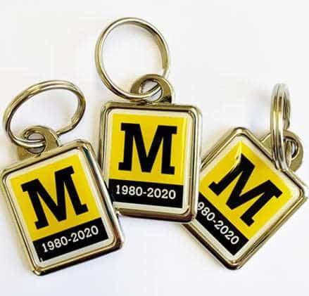 Tyne & Wear Metro Keyrings