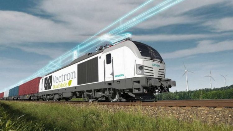 Siemens dual mode locomotives