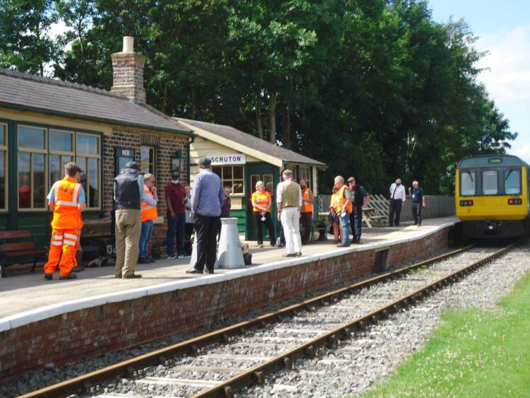wensleydale railway and Network rail team up