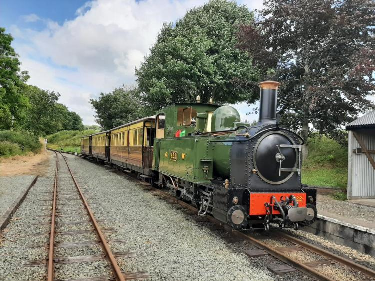 The Earl on the Welshpool and Llanfair Railway