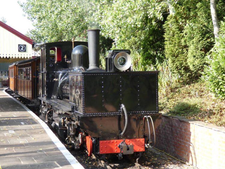 Garratt K1 on the Statfold Barn Railway
