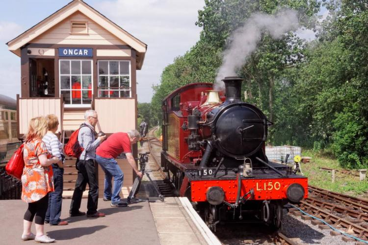 L150 on the Epping Ongar Railway