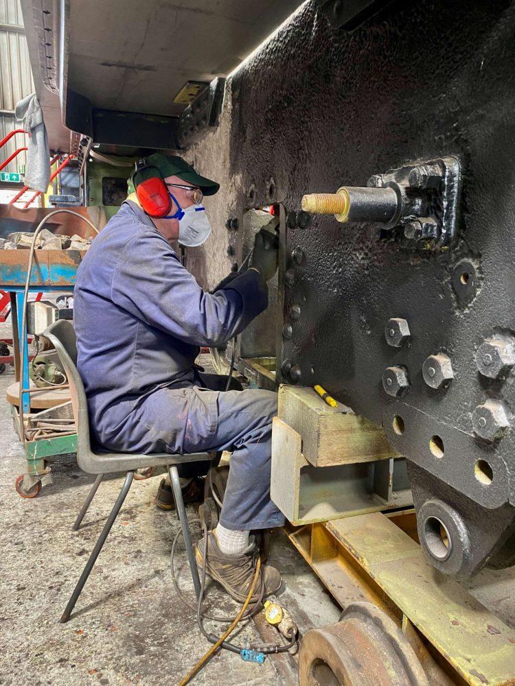 Work progresses on GWR 28XX No. 2874
