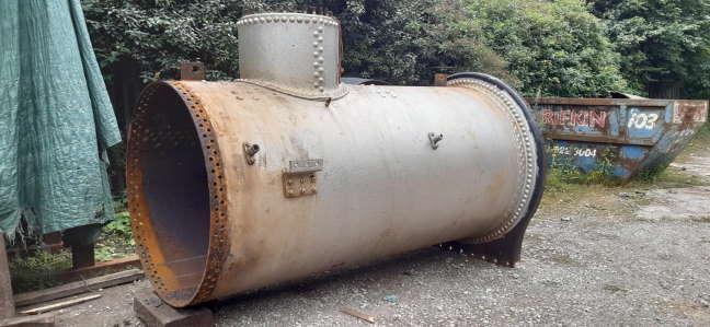 69621's Boiler Barrel // Credit HBSS