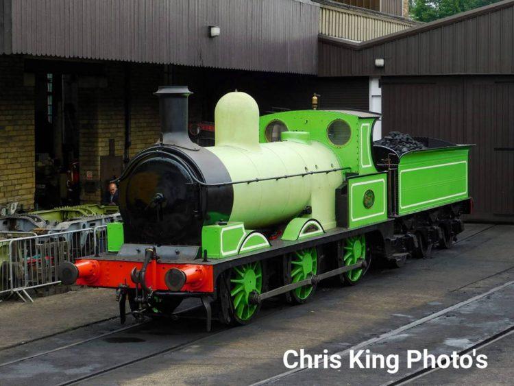 957 at Haworth MPD