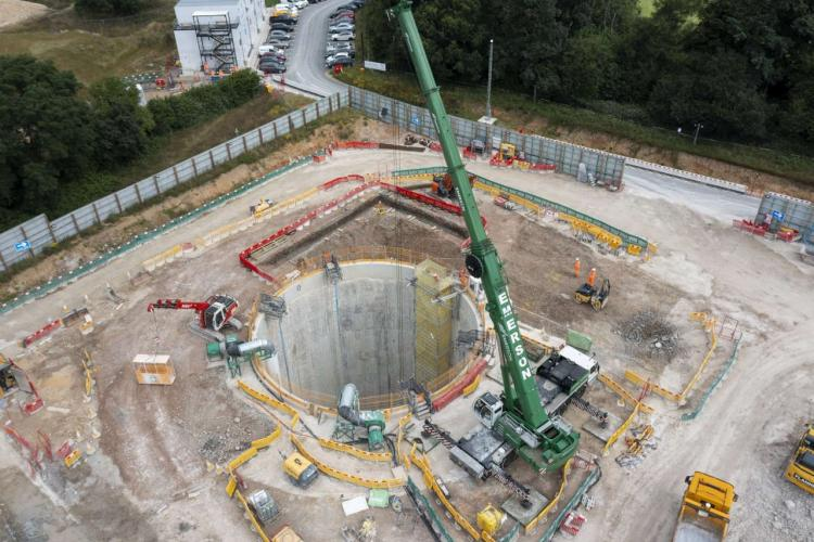 Update of activity at the Chalfont St Peter vent shaft site in Buckinghamshire