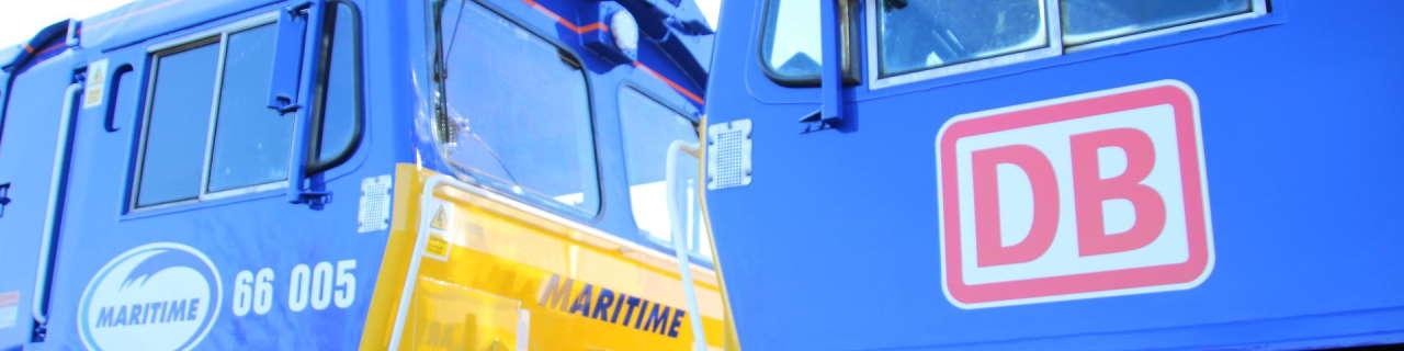 DB Cargo UK Maritime Transport class 66
