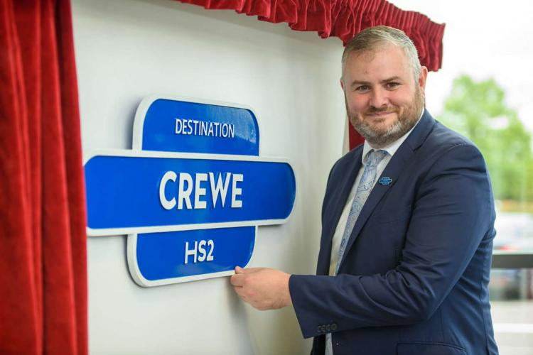 Destination crewe HS2