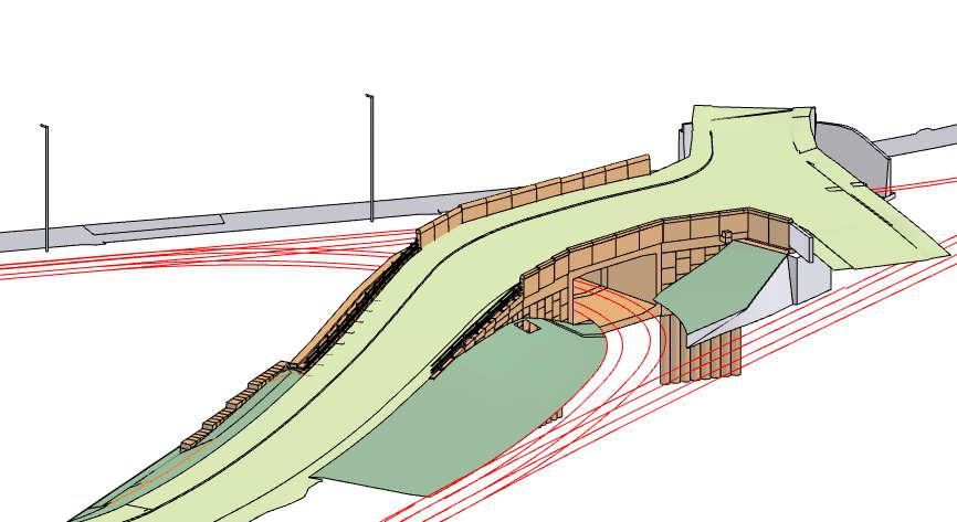 Ffordd Bleddyn tunnel