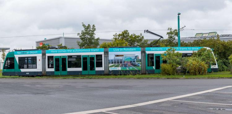 Siemens Autonomous Tram