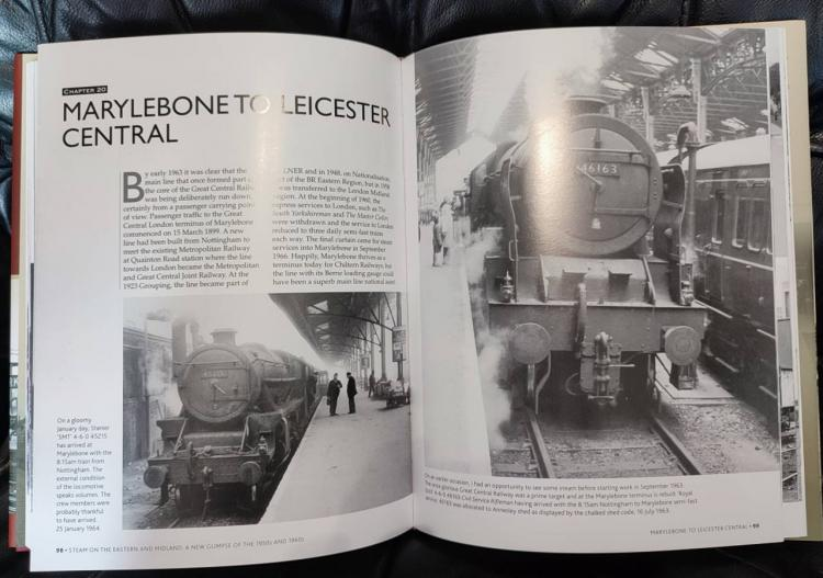 Steam on the Eastern and Midland book