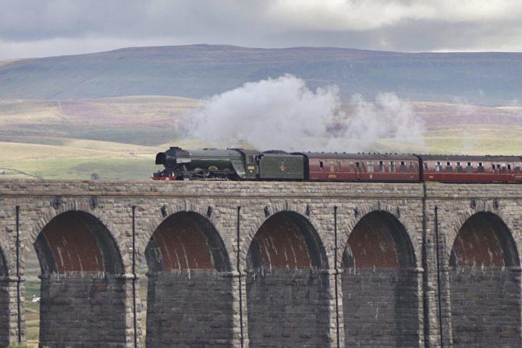 60103 Flying Scotsman Ribblehead Viaduct