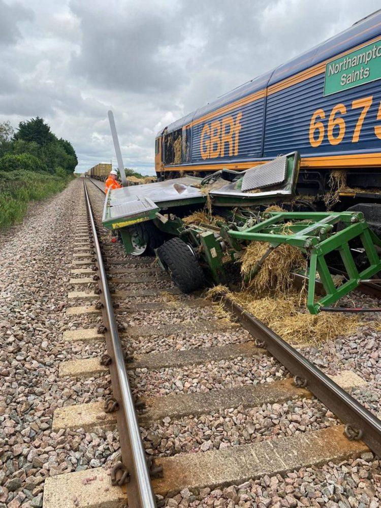 Cambridgeshire level crossing accident