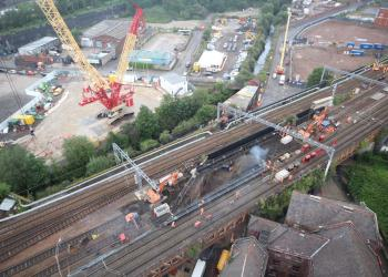 Major bridge reconstruction work starts in Manchester – passengers reminded to check journeys