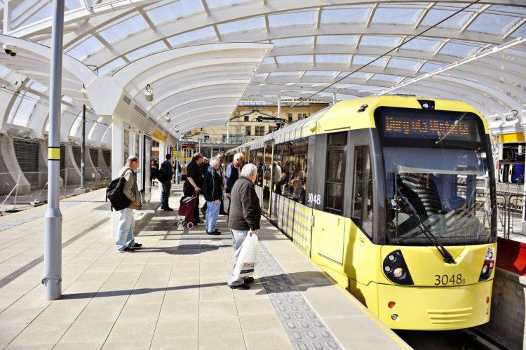 Manchester Victoria Metrolink Tram
