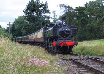 7714 on the Severn Valley Railway