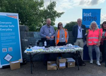 Network Rail joins community in South Wigston in project to tackle vandalism and trespassing