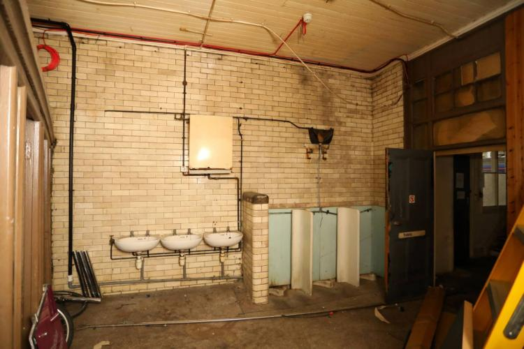 Newcastle Toilets Before