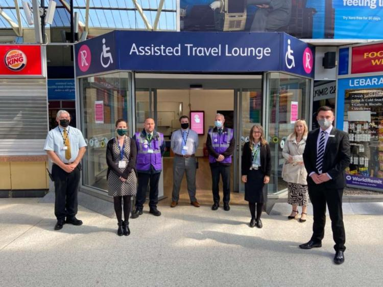 Reading Assisted Travel Lounge_group