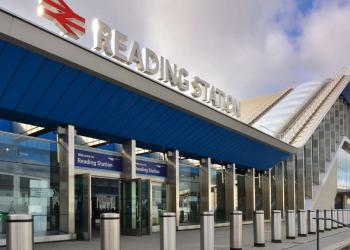 Reading train station (front)
