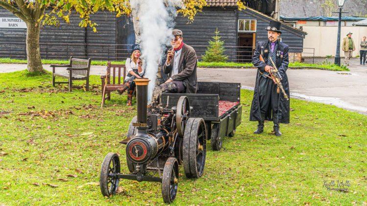 Steampunk Amberley Steam Engine