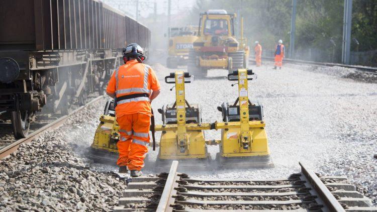 West Coast Main Line track renewals